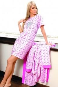 Poze Set rochie de noapte si halat AMANDA