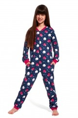 Pijama copii tip salopeta 105-106/86 Sheep