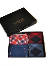 Set cadou barbati Cornette 301/09