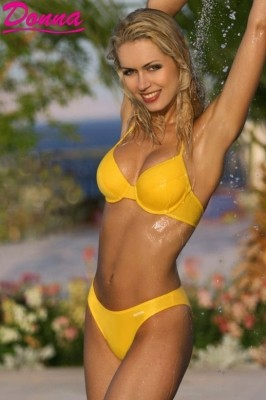 Poze Costum de baie LORES YELLOW