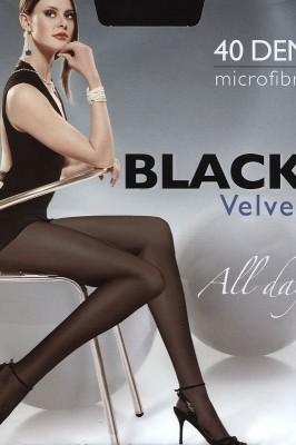Poze Ciorapi Egeo Black Velvet 40 den 5-XL