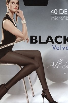 Poze Ciorapi Egeo Black Velvet 40 den