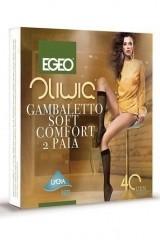 Sosete inalte Egeo Oliwia Soft Comfort -2 perechi