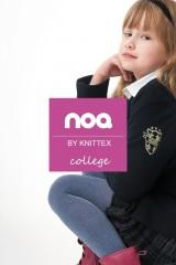 Ciorapi fetite Knittex Noo College Melange 50 den