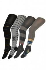 Ciorapi baieti din bumbac cu model pentru baieti Wola Teens W 38N01 6-11 ani