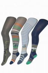 Ciorapi din bumbac cu model pentru baieti Wola Kids W 28N01 2-6 ani