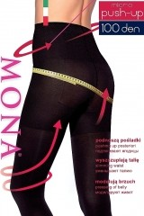 Ciorapi Mona Micro Push-Up 100 den