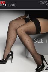 Ciorapi 3/4 Adrian Gwenn Size ++ 15 den
