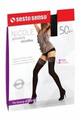 Ciorapi 3/4 Sesto Senso Nicole 50 den