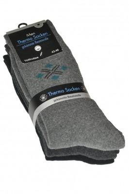 Poze Sosete barbati WiK Thermo Socken 7107 Men (3 perechi)