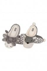 Papuci de casa dama cu animale Soxo 68346 0285