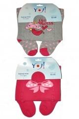 Ciorapi bebelusi flausati YO! Girl art.RA-07 56-86 (fetite)