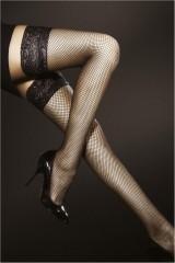 Ciorapi 3/4 plasa Fiore Liza Hold-ups O4004