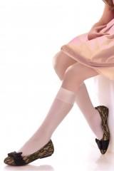 Sosete inalte Knittex Kids Line Ewa 20 den (2 perechi)