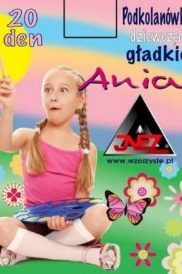 Poze Sosete inalte fetite Inez Ania 20 den