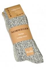 Sosete barbati WiK Norweger Wolle art. 21100 (2 perechi)