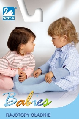 Poze Ciorapi bebelusi uni din bumbac Wola Babies