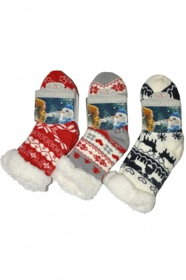 Poze Sosete de casa copii RiSocks Winter Slippers Stele art.2990 ABS