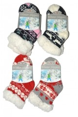 Sosete de casa bebelusi RiSocks Winter Slippers Stele art.3003 ABS