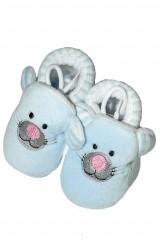 Botosi de casa bebelusi RiSocks art.2976 ABS model cu animale/dungi