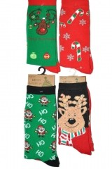 Sosete unisex RiSocks Merry Christmas 3058