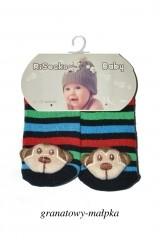 Sosete bebelusi cu zornaitoare RiSocks ABS art.5692853 (baieti)