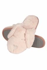Papuci de casa dama Soxo Dog 94369 -model cu urechi