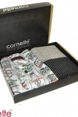 Set cadou barbati Cornette 305/01