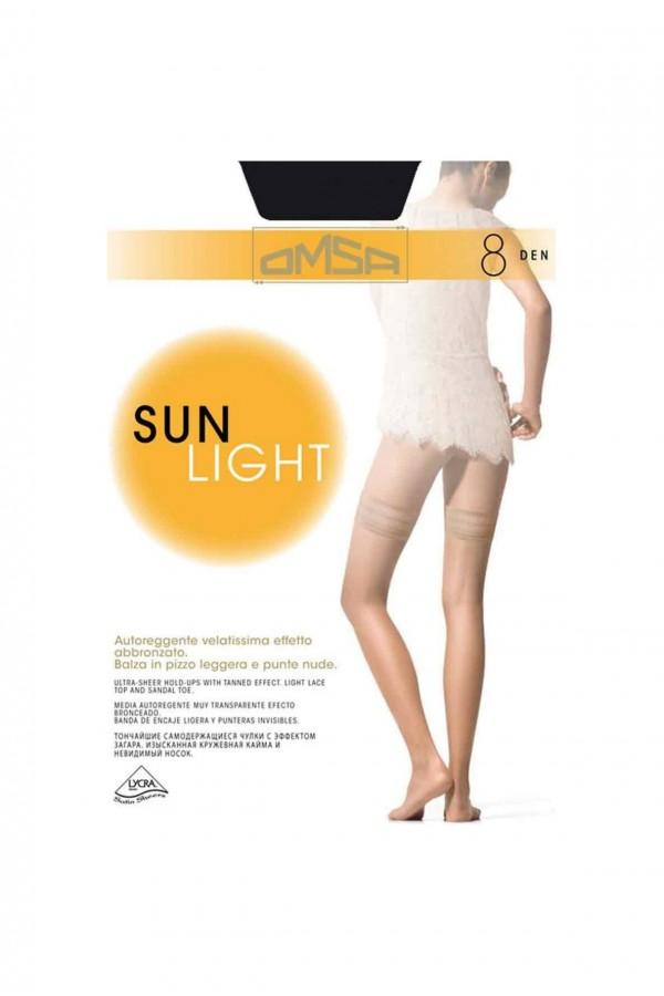 Ciorapi 3/4 Omsa |Sun Light 8 den