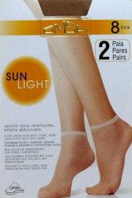 Poze Sosete Omsa| Sun Light 8 den -2 perechi