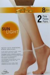 Sosete Omsa| Sun Light 8 den -2 perechi