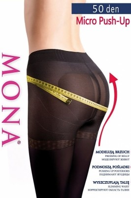 Poze Ciorapi Mona Micro Push-Up 50 den