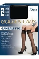 Sosete inalte Golden Lady Gambaletto| 15 den  -2 perechi