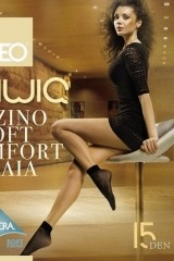 Sosete Egeo Oliwia Soft Comfort 15 den -2 perechi