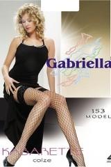 Ciorapi 3/4 plasa Gabriella 153