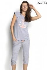 Pijama de dama Sailor (34221-90X + 34223-90X)
