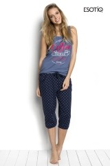 Pijama de dama Sunday (34237-55X + 34239-55X)