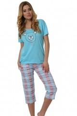 Pijama de dama Sonia kr.r. sp.3/4