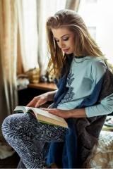 Pijama de dama LNS 706 B7
