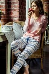 Pijama de dama LNS 987 B7