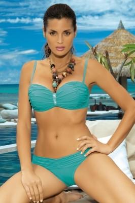 Poze Costum de baie Eliza M-122 Verde-Turcoaz (26)