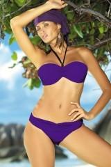 Costum de baie Nicole M-158 violet pruna (66)