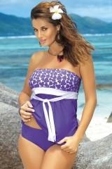 Tankini Julie M-182 violet deschis (76)
