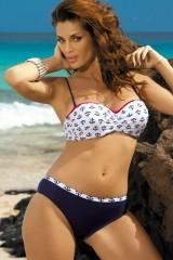 Costum de baie Kylie Blu Scuro M-227 Bleumarin (178)