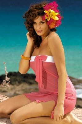 Poze Rochie de plaja Mia Kyr Pache M-241 Corai (201)