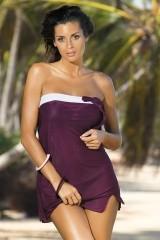 Rochie de plaja Mia Vigneti M-241 Violet pruna (229)