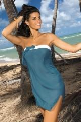 Rochie de plaja Mia Sharm M-241 Verde marin inchis (229)