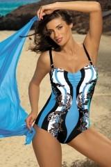 Costum de baie Miriam Nero-Skipper M-329 (Negru-Bleu)