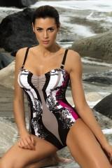 Costum de baie Miriam Nero-Venere M-329 (Negru-Bej)