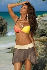 Fusta de plaja Kayla Ghiro-Avorio M-363 (14)